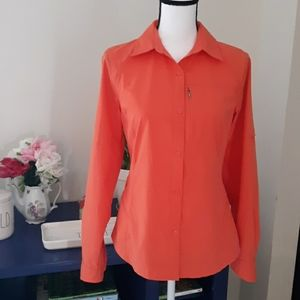 Columbia Button Down Active Wear Sweater